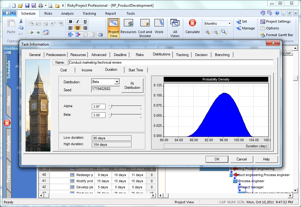 Multiple Statistical Distributions