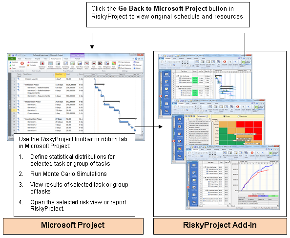 RiskyProject for Microsoft® Project