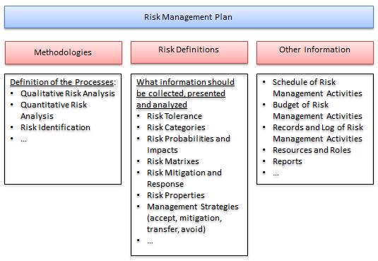 Risk Management Plan